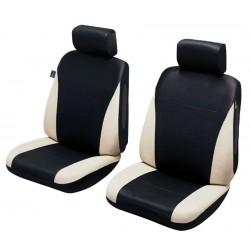 Funda universal para asientos delanteros Black y Beige