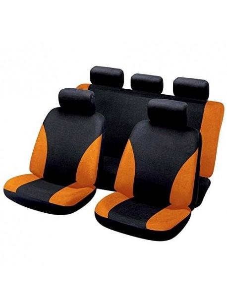 Funda universal para el asiento de seguridad rojo y negro