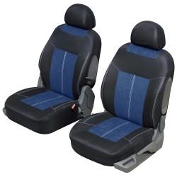 Funda para automóvil Microfibra Azul y Negro