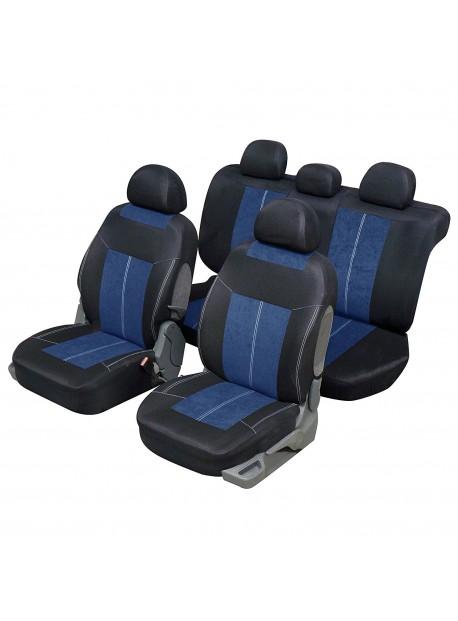 Funda para automóvil Sedan y Break Microfibre Azul y negro
