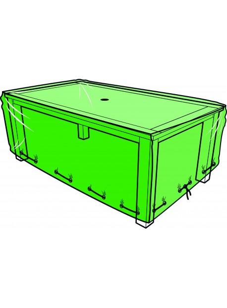 Funda para mesa de jardín rectangular - 180 x 110 x 60 cm
