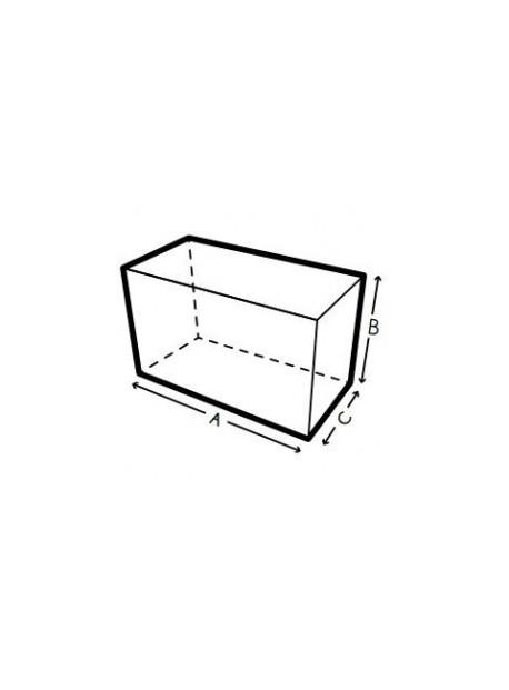 Funda a medida de jardin forma rectangular