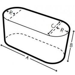 Funda a medida ovale, Forma 5