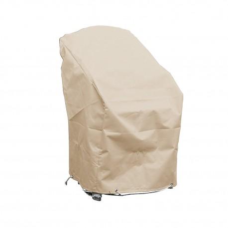 Funda de protección para sillas de jardín apilables L 70 x A 65 x A 70