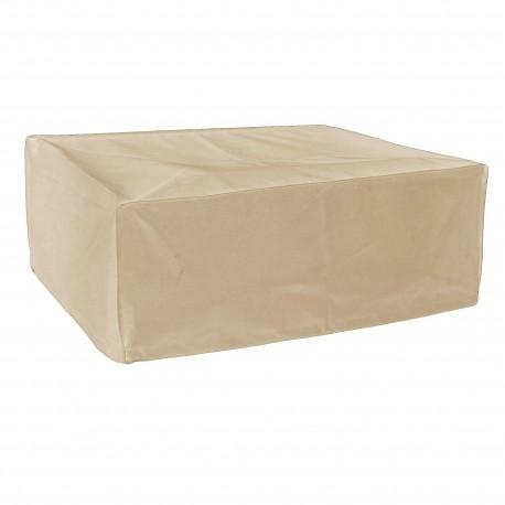 Funda protectora para Plancha a colocar beige L45 x l60 x h25 cm r L 45 x l 60 x h 25 cm
