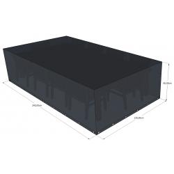 Funda para muebles de jardín 240x130x60 rectangular