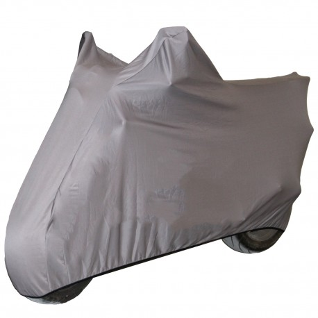 Funda para motocicleta de interior talla L gris