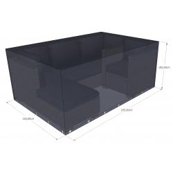 Funda para muebles de jardín 245x165x60 rectangular