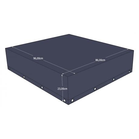 Funda protectora rectangular 96x86x23