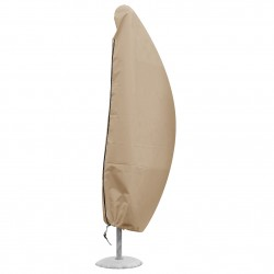 Funda de sombrilla a distancia A 185 cm x Ø 40 cm beige