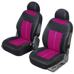 Funda de asiento delantero VSP rosa y negro universal