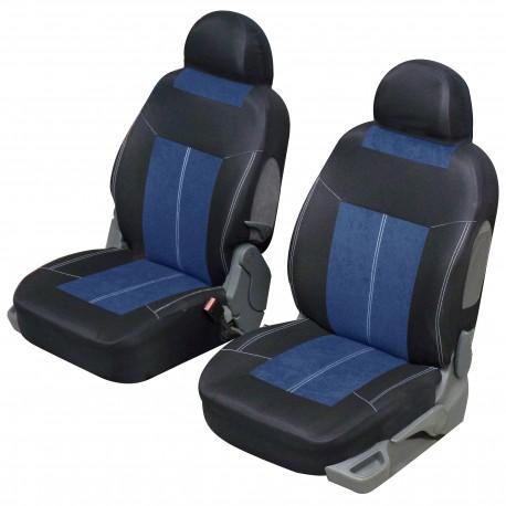 Funda de asiento delantero para automóviles sin licencia VSP Azul y negro