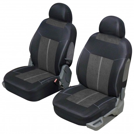 Funda de asiento delantero VSP Azul y negro universal